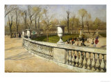 Jardin Du Luxembourg, 1883 Giclee Print by Fritz Thaulow