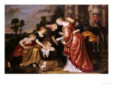 The Finding of Moses Giclee Print by Cornelis De Vos