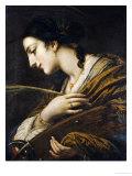 Saint Catherine of Alexandria Giclée-tryk af Il Volterrano