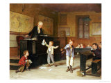 The School Room Premium Giclee Print by Andre Henri Dargelas