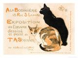 A la Bodiniere, 1894 Gicléedruk van Théophile Alexandre Steinlen