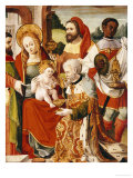 The Adoration of the Magi, Castillian School, circa 1525 Giclee Print