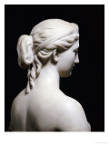 Fine American White Marble Bust of Proserpine, Hiram Powers, 19th Century Premium Giclee Print by Hirim Powers