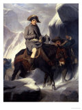 Napoleon Crossing the Alps, 1848 Giclee Print by Paul Delaroche
