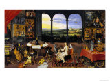 An Allegory of Hearing Giclee Print by Jan Brueghel the Elder