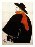 Aristide Bruant Dans Son Cabaret, 1893 Prints by Henri de Toulouse-Lautrec