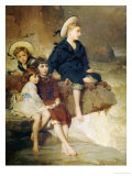 The Children of Sir H. Hussey Vivian Bt. M.P., 1883 Giclee Print by George Elgar Hicks
