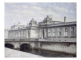 The Marmorbroen, Christiansborg Palace, Copenhagen Prints by Vilhelm Hammershoi