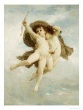 L&#39;Amour Vainqueur, 1886 Giclee Print by William Adolphe Bouguereau