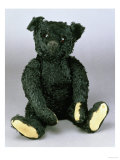An Exceptionally Fine and Rare Steiff Black Teddy Bear with Black Mohair, 1912 Print by  Steiff