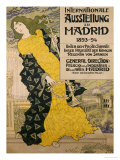 Internationale Ausstellung Zu Madrid, 1893 Prints by Eugene Grasset