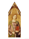Saint Catherine Prints by Jacopo Del Casentino