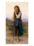 Petite Bergere Giclee Print by William Adolphe Bouguereau