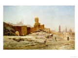 A View of Cairo, 1875 Reproduction procédé giclée par Ernst Korner