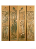 The Nativity, Cartoons for the Stained Glass Window at St. Deiniol, Hawarden, 1897 Posters by Edward Burne-Jones
