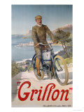 Griffon, circa 1910 Giclee Print by Hugo F, D&#39;alesi