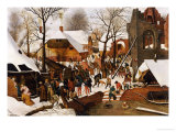 The Adoration of the Kings Posters by Pieter Bruegel the Elder
