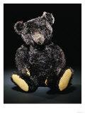 A Rare Black Steiff Teddy Bear with Rich Black Curly Mohair, circa 1912 Posters by  Steiff