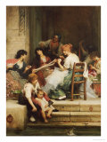 Venetian Life, 1884 Giclee Print by Samuel Luke Fildes