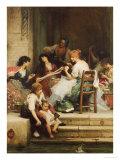 Venetian Life, 1884 Giclee Print by Samuel Luke Fildes