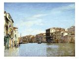 Le Grand Canal, Venise Reproduction procédé giclée par Alberto Pasini