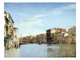 The Grand Canal, Venice Giclee Print by Alberto Pasini