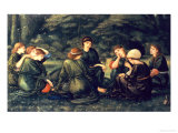 Green Summer, 1868 Prints by Edward Burne-Jones