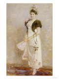 Portrait of Emma Thomsen, April 1893 Giclee Print by Peder Severin Kr&#246;yer