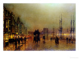 Glasgow Giclee Print by John Atkinson Grimshaw