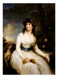 Portrait of a Lady, Seated Art by John Russell