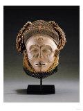 A Chokwe Mask, Mwana Pwo Print