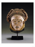A Chokwe Mask, Mwana Pwo Giclee Print
