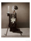 A Shinto Priest Offering Sake to the Kami, 1880 Giclee Print by Baron Von Raimund Stillfried