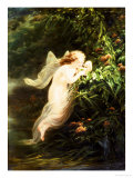 The Spirit of the Morning Giclee Print by Fritz Zuber-Buhler