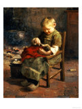 The Doll's Supper Giclee Print by Evert Pieters