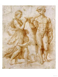 Mercury Offering the Cup of Immortality to Psyche Giclee Print