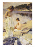 Les Baigneuses, 1889 Posters by Anders Leonard Zorn