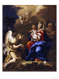 The Rest on the Flight to Egypt Posters af Sebastiano Ricci