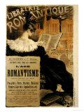 Eugene Grasset - Librairie Romantique, 1887 - Giclee Baskı