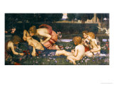 L'éveil d'Adonis Affiches par John William Waterhouse