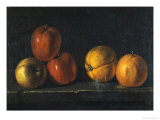 Still-Life with Oranges Giclee Print by Jacques Charles Oudry