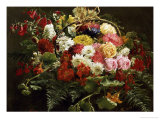 A Summer Bouquet, 1883 Giclee Print by Anthonie Eleonore Christensen