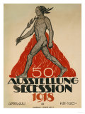 Ausstellung Secession, 1918 Posters