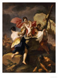 Thetis Dipping the Infant Achilles Into Water from the Styx Giclee Print by Antonio Balestra