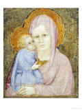 The Madonna and Child Giclee Print by Lorenzo Salimbeni