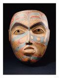 A Haida Portrait Mask Giclee Print