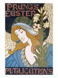 Prang&#39;s Easter Publications, 1896 Giclee Print by Louis John Rhead