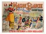 La Maison Blanche, circa 1900 Giclee Print
