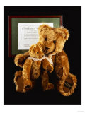 Mother and Child, Unique Golden Brown Plush Teddy Bears Giclee Print