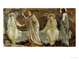 The Morning of the Resurrection, 1882 Poster by Edward Burne-Jones